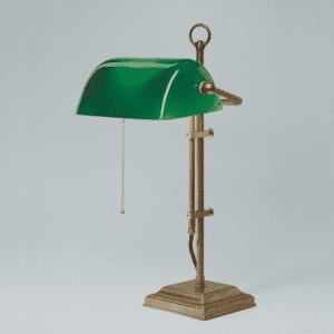 Bankerlampe - Bankers Lamp - Grüne Lampe - Schreibtisch Lampe grün